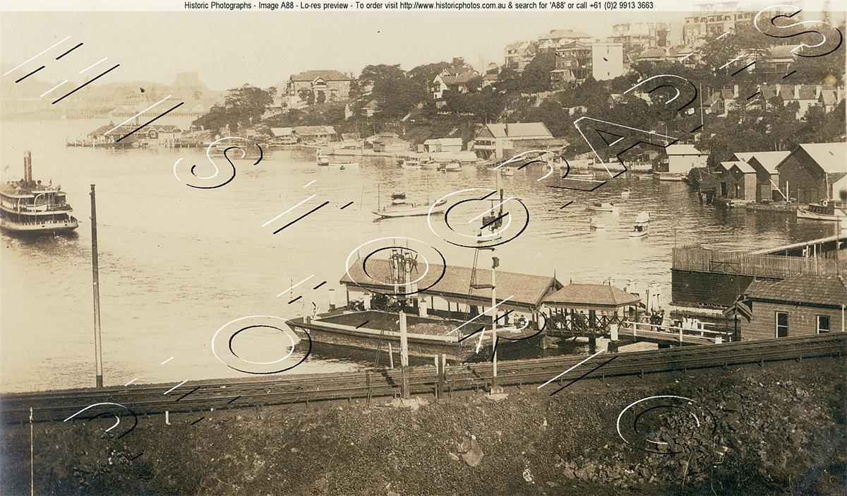 Lavender Bay & McMahons Point ship yard